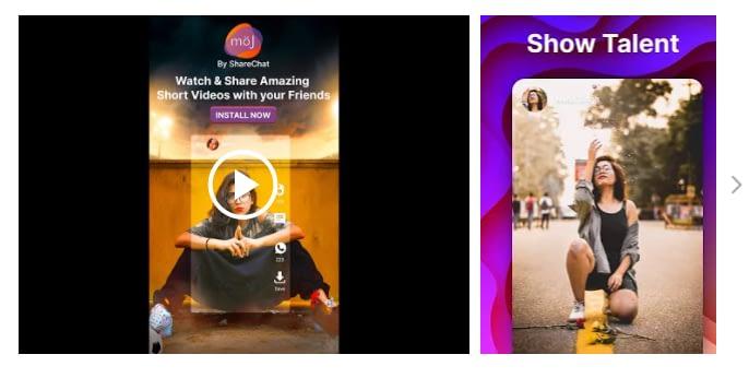 Moj Short Video App