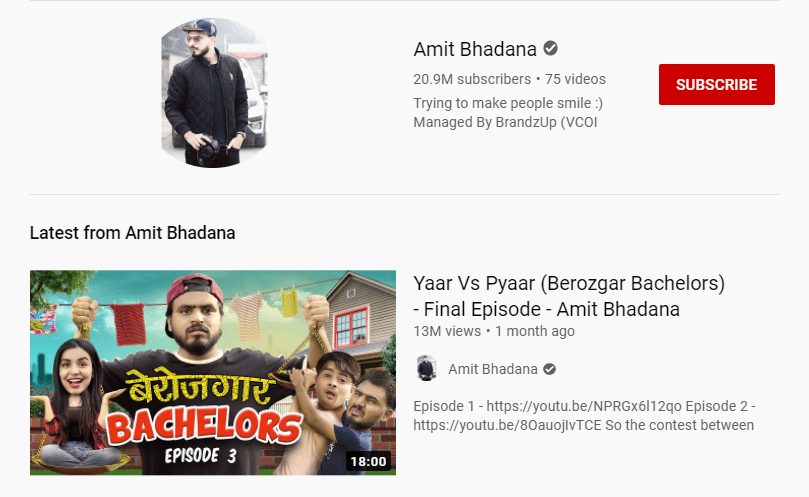 amit bhadana youtube channel